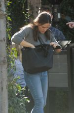 JENNIFER GARNER Out in Los Angeles 01/27/2019