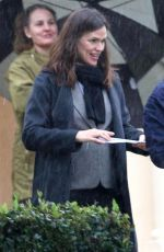 JENNIFER GARNER Out in Los Angeles on a Rainy Day 01/15/2019