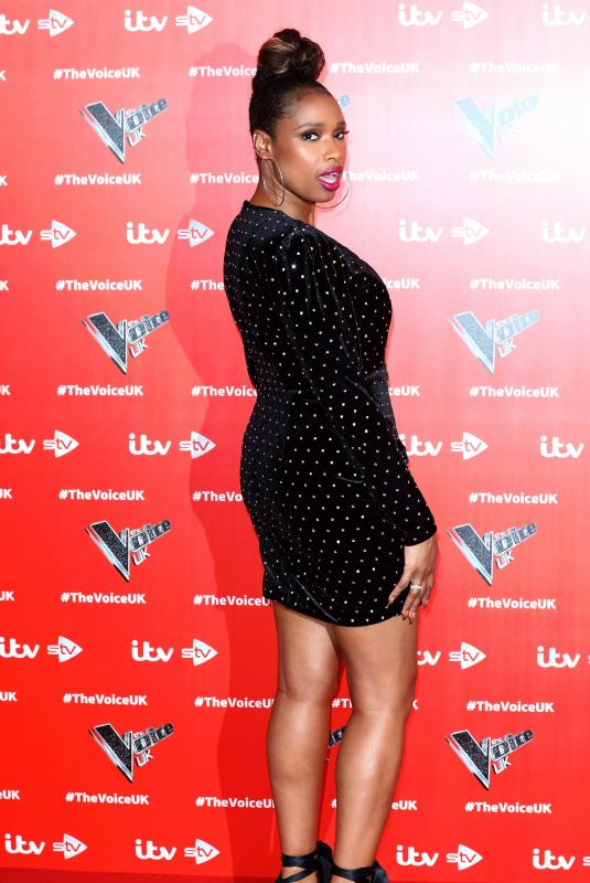 JENNIFER HUDSON at The Voice UK Launch in London 01/03/2019
