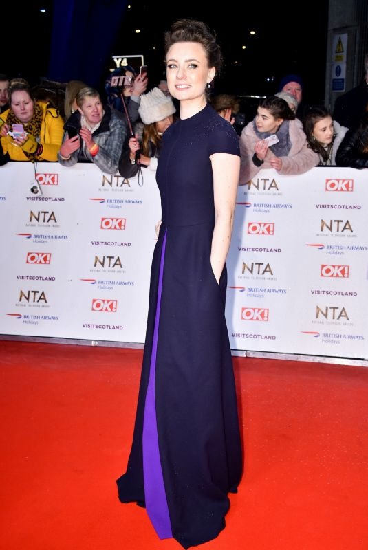 JENNIFER KIRBY at 2019 National Televison Awards in London 01/22/2019