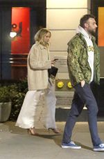 JENNIFER LAWRENCE and Cooke Maroney Out in New York 01/14/2019