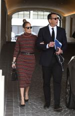 JENNIFER LOPEZ and Alex Rodriguez Out in Miami 01/25/2019