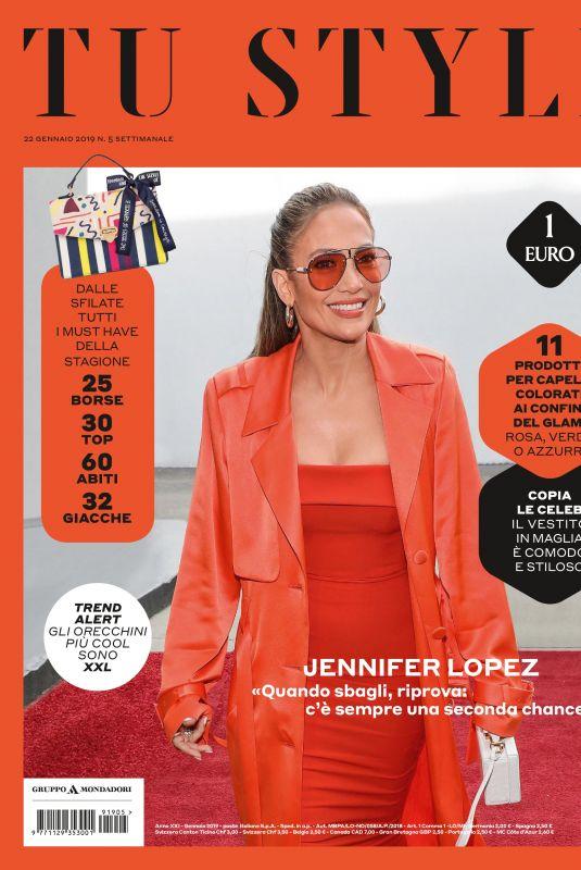 JENNIFER LOPEZ in Tu Style Magazine, January 2019