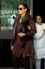 JENNIFER LOPEZ Leaves Cedars-sinai in Beverly Hills 01/10/2019