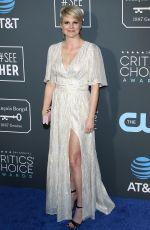 JENNIFER ROBERTSON at 2019 Critics' Choice Awards in Santa Monica 01/13/2019