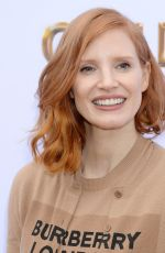 JESSICA CHASTAIN at Gold Meets Golden Brunch in Beverly Hills 01/05/2019