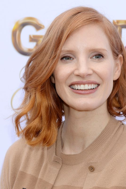 JESSICA CHASTAIN at Gold on Golden Brunch in Beverly Hills 01/05/2019