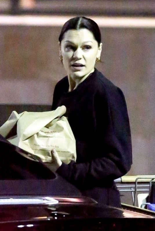 JESSIE J Out in Los Angeles 01/17/2019