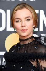 JODIE COMER at 2019 Golden Globe Awards in Beverly Hills 01/06/2019