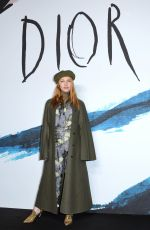 JOSEPHINE DE LA BAUME at Dior Homme Fashion Show at Paris Fashion Week 01/18/2019