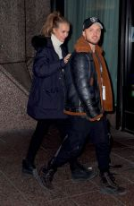 JOSEPHINE SKRIVER and Alexander DeLeon Night Out in New York 01/14/2019