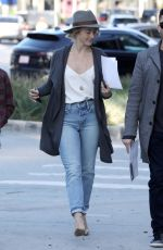 JULIANNE HOUGH Out and About in West Hollywood 01/09/2019