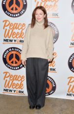 JULIANNE MOORE at 2019 Peace Week Town Hall at Betaworks Studio in New York 01/21/2019