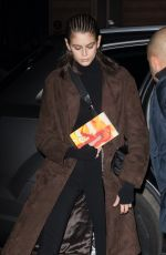 KAIA GERBER Arrives at Her Hotel in Paris 01/21/2019