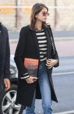 KAIA GERBER Out and About in Milan 01/13/2019