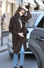 KAIA GERBER Out and About in Paris 01/18/2019