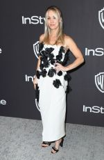 KALEY CUOCO at Instyle and Warner Bros Golden Globe Awards Afterparty in Beverly Hills 01/06/2019