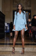 KARIDJA TOURE at Elie Saab Fashion Show in Paris 01/23/2019