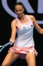 KAROLINA PLISKOVA at 2019 Australian Open at Melbourne Park 01/15/2019