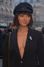 KAT GRAHAM at Schiaparelli Show at Paris Fashion Week 01/21/2019