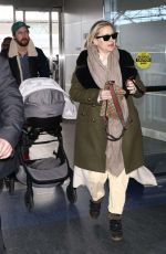 KATE HUDSON and Danny Fujikawa at JFK Airpirt in New York 01/13/2019