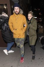 KATE HUDSON and Danny Fujikawa Leaves Crosby Hotel in New York 01/10/2019