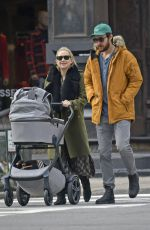 KATE HUDSON and Danny Fujikawa Out in New York 01/09/2019