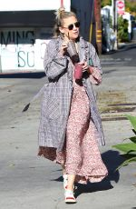 KATE HUDSON Out and About in Los Angeles 01/22/2019