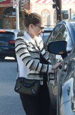 KATE MARA Out in Los Angeles 01/24/2019