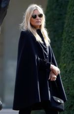KATE MOSS at Rodin Museum in Paris 01/18/2019