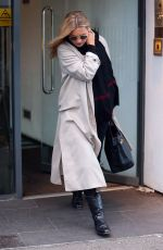 KATE MOSS Leaves a Spa in London 01/14/2019