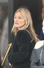 KATE MOSS Out and About in Paris 01/17/2019
