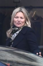 KATE MOSS Out Shopping in Notting Hill 01/23/2019