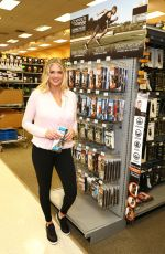 KATE UPTON at Copper Fit Promotion at Dicks Sporting Goods in El Segundo 01/09/2019