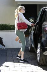 KATE UPTON Leaves a Gym in Los Angeles 01/27/2019