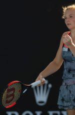 KATERINA SINIAKOVA at 2019 Australian Open at Melbourne Park 01/14/2019