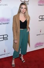 KATHERINE HUGHES at Anthem of a Teenage Prophet Premiere in Hollywood 01/10/2019
