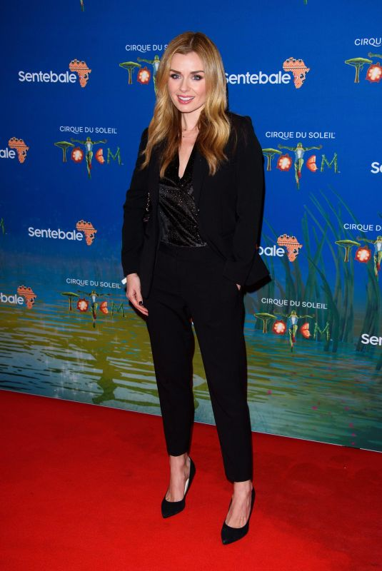 KATHERINE JENKINS at Cirque Du Soleil Totem 10th Anniversary Premiere in London 01/16/2019