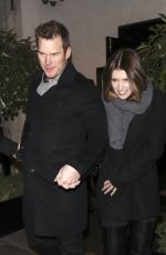KATHERINE SCHWARZENEGGER and Chris Pratt Night Out in London 01/28/2019