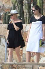 KATHERINE SCHWARZENEGGER on Vacation in Cabo San Lucas 01/07/2019