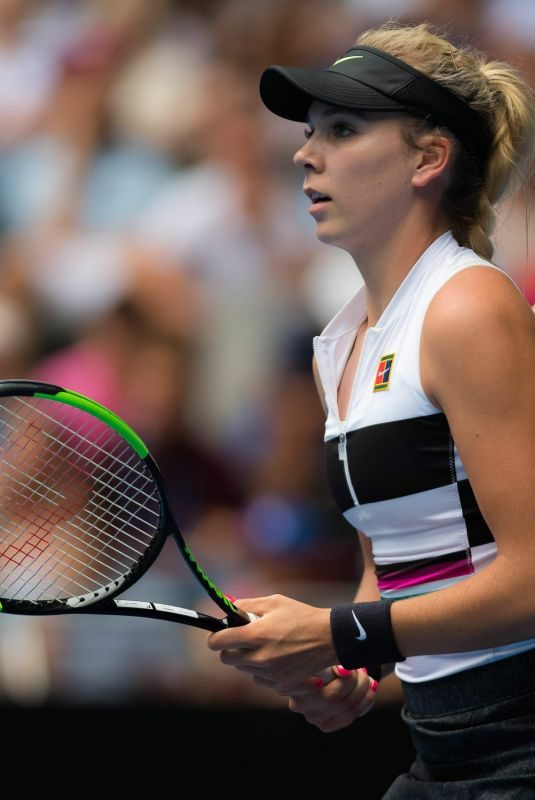 KATIE BOULTER at 2019 Australian Open at Melbourne Park 01/16/2019