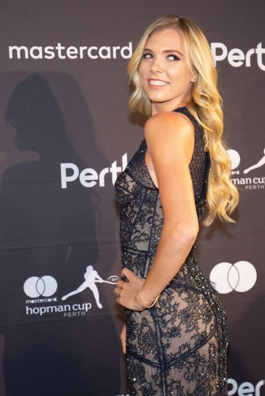 KATIE BOULTER at Hopman Cup New Year's Eve Gala in Perth 12/31/2018