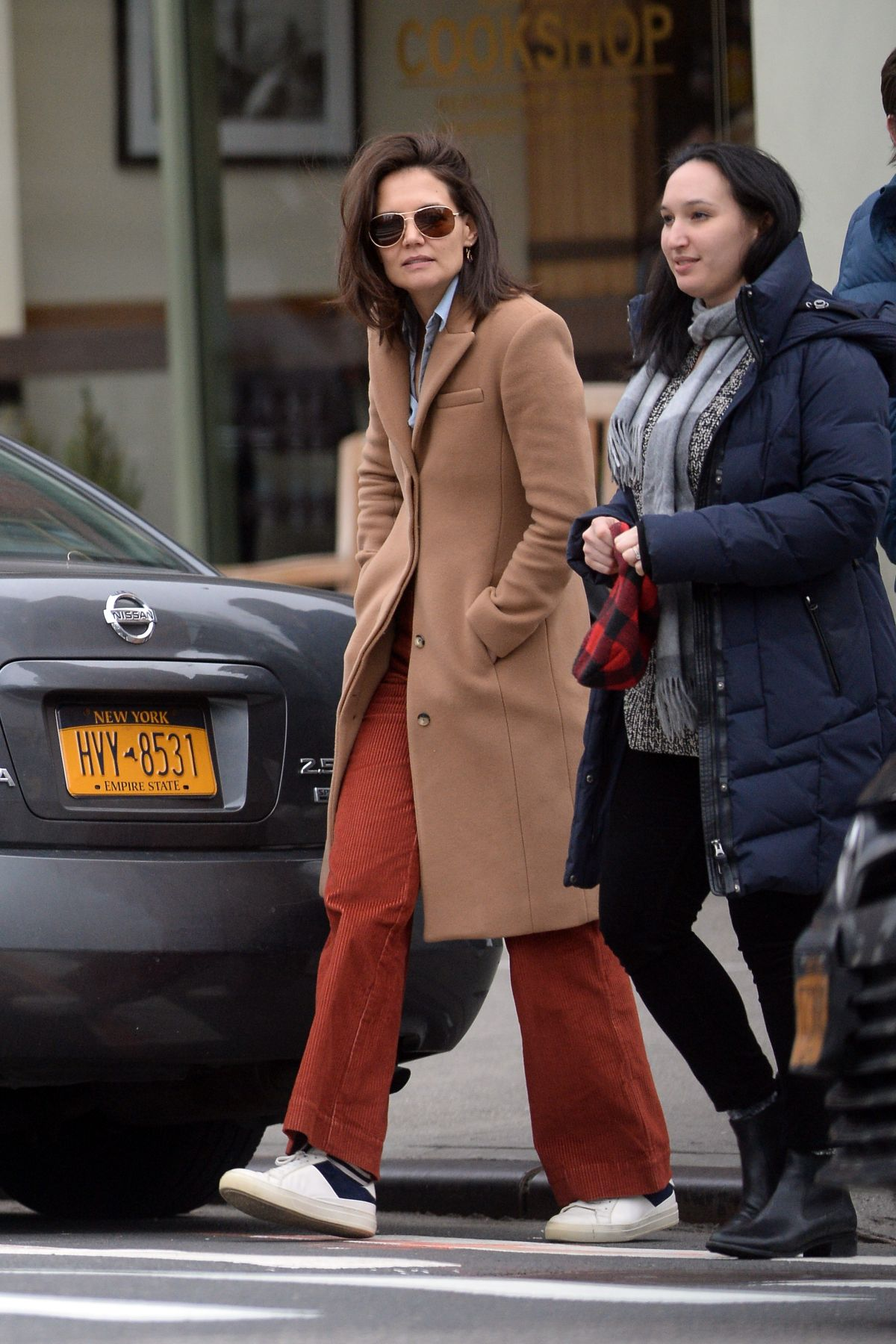 Katie Holmes Out And About In New York 01 07 2019 Hawtcelebs