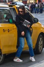KATIE HOLMES Out and About in New York 01/14/2019