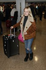 KELI BERGLUND at Salt Lake City Airport 01/26/2019