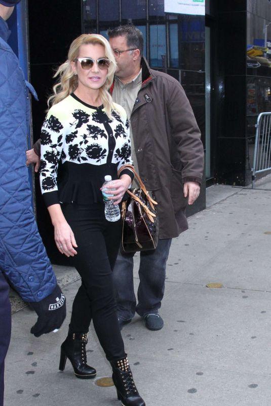 KELLIE PICKLER Leaves Good Morning America in New York 01/10/2019
