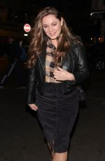 KELLY BROOK Leaves Her Heart FM Drive Time Radio Show in London 01/21/2019