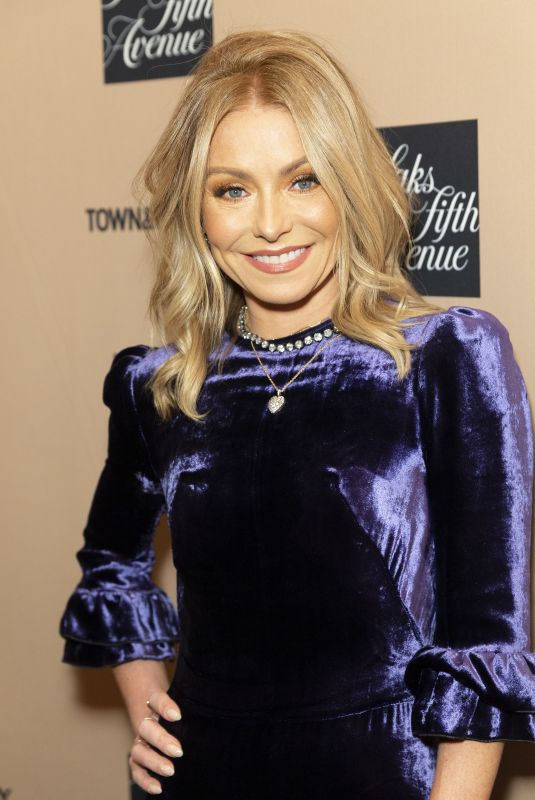 KELLY RIPA at Town & Country Jewelry Awards in New York 01/24/2019