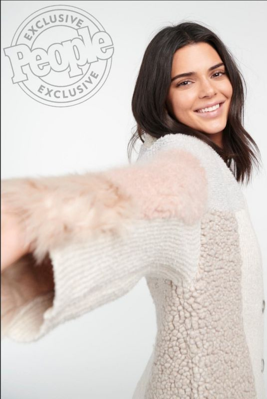 KENDALL JENNER in People Magazine, January 2019