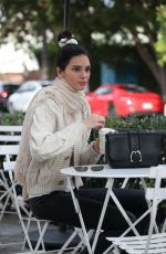 KENDALL JENNER Out for Coffee in Los Angeles 12/23/2018